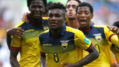 En fotos: Ecuador logró un histórico paso a Semifinales del Mundial Sub-20 a costas del Team USA