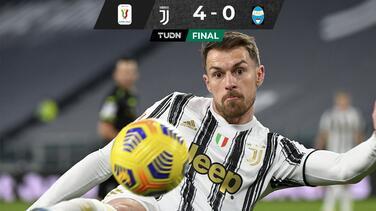 Juventus a Semifinales de la Copa de Italia tras vencer al SPAL