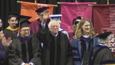 Inspirador discurso de Bernie Sanders durante ceremonia de graduación de los estudiantes de Brooklyn College