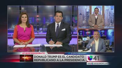 Tiempo de debate: Polémica por discurso de Melania Trump