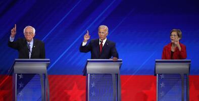 Amenazas nucleares y la continuación del juicio político de Trump: así llegan los demócratas al sexto debate