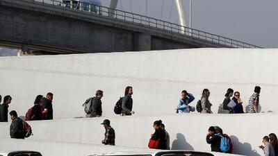 Sindicato de oficiales federales de asilo rechaza la política de devolver a México a los solicitantes de refugio