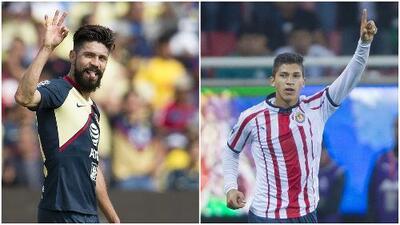 Comparativa entre Oribe Peralta y Ángel Zaldívar, los 'killers' de América y Chivas