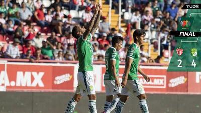 ¡Indomable! León vence a Necaxa con triplete de Ismael Sosa