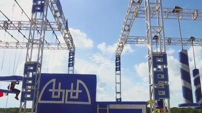 Sin miedo a las alturas: la pista de aire a la que se enfrentan los participantes de 'Reto 4 Elementos'