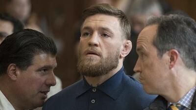 Conor McGregor fue arrestado... otra vez
