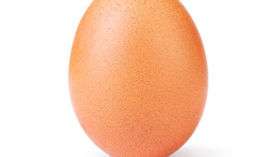 La imagen de un huevo conmociona las redes sociales y se convierte en la más celebrada de Instagram