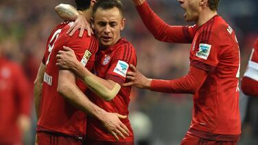Bayern de Múnich derrotó a Ingolstadt y aseguró el título de invierno