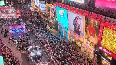 Estas son las medidas de seguridad para celebración de Fin de Año en Times Square