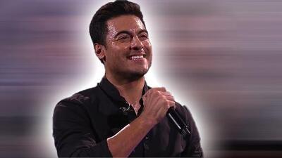 Carlos Rivera le puso su toque romántico a Viña del Mar al cantar 'Me muero'