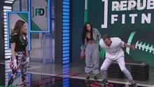 ¿A lo Tom Brady? Félix Fernández y su gran rutina en República Fitness