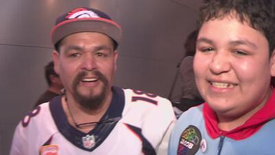 Familias latinas celebran emocionadas el éxito de sus hijos en el Super Bowl