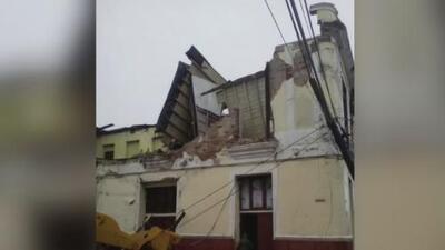 Registran que edificaciones en Cuba presentan colapsos por el paso de huracanes y tormentas