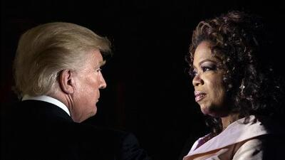 ¿Oprah Winfrey vs. Donald Trump en 2020?: sería un choque de dos celebridades muy diferentes