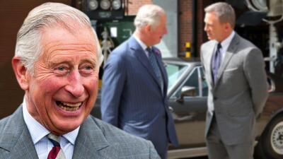 """El príncipe Carlos """"está considerando"""" formar parte de la nueva película del agente 007"""