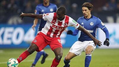 Colonia salva el empate ante el Schalke 04