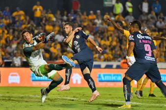 En fotos: ¡Partidazo! América venció a Tigres y sigue acercándose a la Liguilla