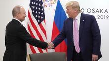 """Trump bromea con el 'Rusiagate' y le dice a Putin: """"No se meta en las elecciones de 2020"""""""