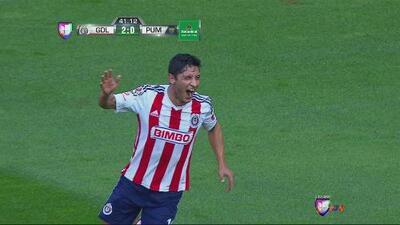 Chivas vs Pumas: Ángel Reyna anota el segundo para el Guadalajara