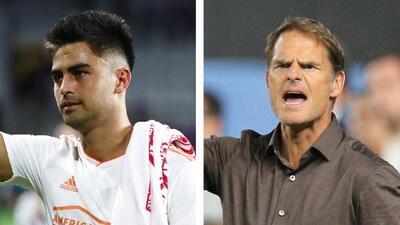 Frank de Boer pide a 'Pity' Martínez que esté listo para jugar con Atlanta en los Playoffs