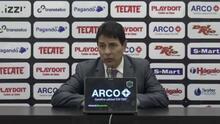 Alfonso Sosa cree que su equipo no mereció perder