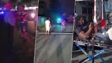 """(VIDEO) """"Cojo mi rifle y nos matamos"""": Arrestan a 'Che Metra', fugitivo federal que amenazó a policía y espera a ser extraditado"""