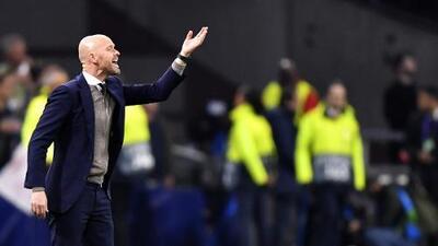 ¡Regañiza! Ten Hag se disgusta con el Ajax y señala a jugadores
