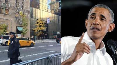 Proponen llamarle 'Obama avenue' al tramo de la Quinta Avenida frente a la Torre Trump