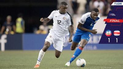 Keylor Navas salva a Costa Rica de la derrota ante Haití