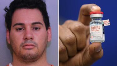 'Rescatista del año 2020' en Florida es arrestado por robarse vacunas contra el coronavirus