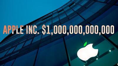 Mira la interminable lista de todo lo que puedes comprar con los $1,000,000,000,000 que vale Apple