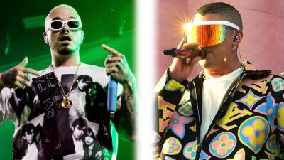 J Balvin vs. Bad Bunny, ¿cuál de los dos ganaría este duelo de gafas?