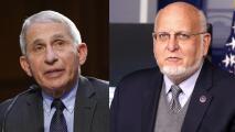 """""""Probablemente fue propagación comunitaria"""", responde Fauci al comentario del exjefe de los CDC sobre el origen del coronavirus"""