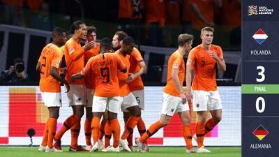 Holanda humilló a Alemania y peligra la continuidad de Joachim Low