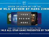 ¡Diseña el arte del nuevo himno de la MLS y asiste al All-Star Game 2021!