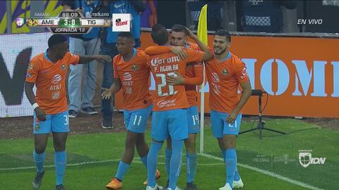 Benedetti selló el imponente triunfo sobre Tigres