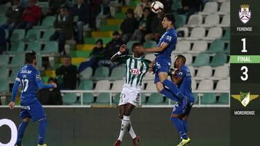 En derrota del Feirense, el 'Pollo' Briseño anota su primer gol en la Liga de Portugal