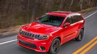 Nueva York 2017: todo sobre la Jeep Grand Cherokee SRT Trackhawk 2018