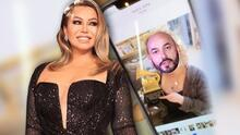 Chiquis le hizo 'photoshop' al GRAMMY de su tío Lupillo Rivera mucho antes de ganar el suyo