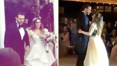 Se filtran fotos y chismes de la boda de Dulce María con Paco Álvarez