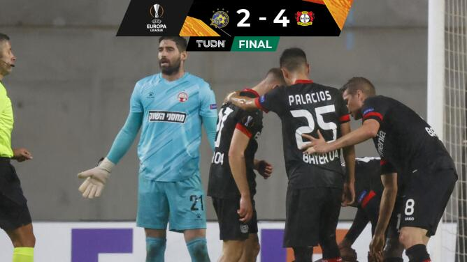 Bayer Leverkusen goleó en Chipre por la Europa League