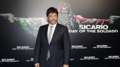Benicio del Toro y 'Sicario 2', una saga que promete sorpresas a sus seguidores