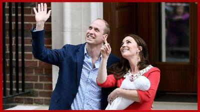 Nació el nuevo bebé Real del Reino Unido y con él los memes