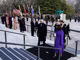 Una juramentación sin violencia, sin sorpresas y sin gente para Biden y Harris