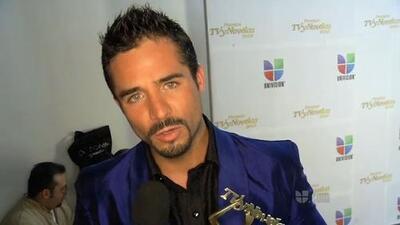 José Ron ganó el Premio Tv y Novelas como el Mejor Actor Co Estelar