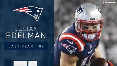 #71: Julian Edelman (WR, Patriots) | Top 100 jugadores 2017
