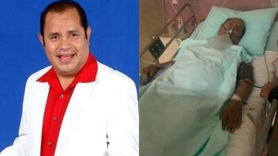 El cantante Rayito Colombiano, en estado crítico por problemas en el corazón