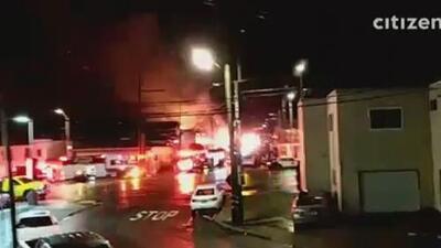 Incendio en San Francisco deja seis heridos y 20 desplazados