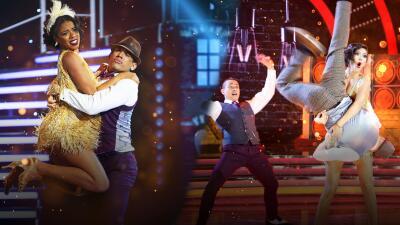 Arana vs Ana Patricia: quién bailó (y se vio) mejor en el charleston