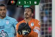 ¡Cardiaco! Con gol de último minuto, Querétaro empata al Pachuca